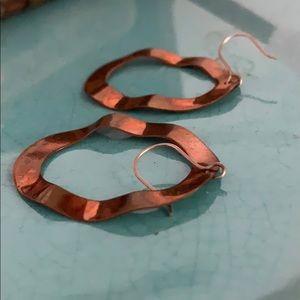 Vintage Jewelry - Copper earrings